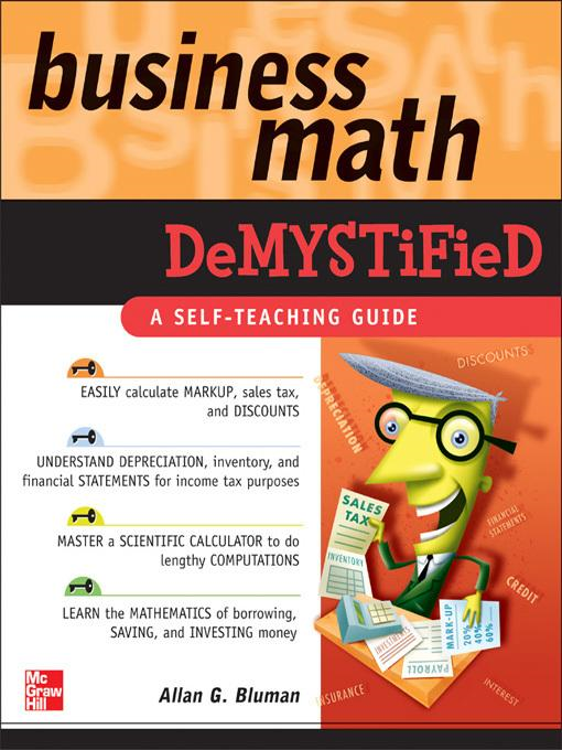 Business Math Demystified