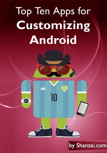 Top Ten Apps for Customizing Android By: MetaPlume Corporation