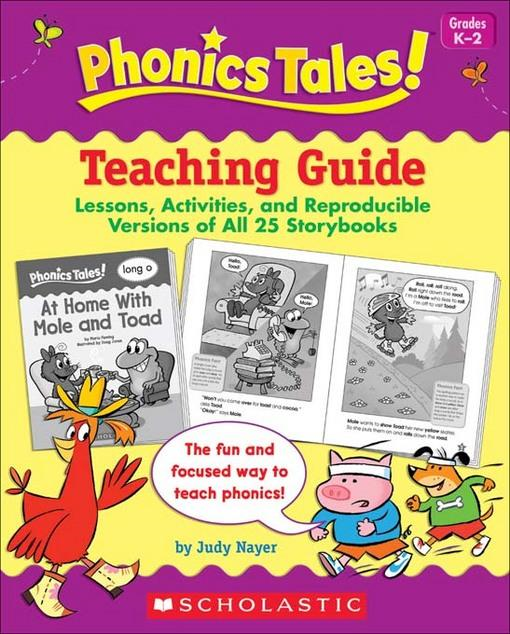 Liza Charlesworth - Phonics Tales: Teaching Guide: Lessons, Activities, and Reproducible Versions of All 25 Storybooks