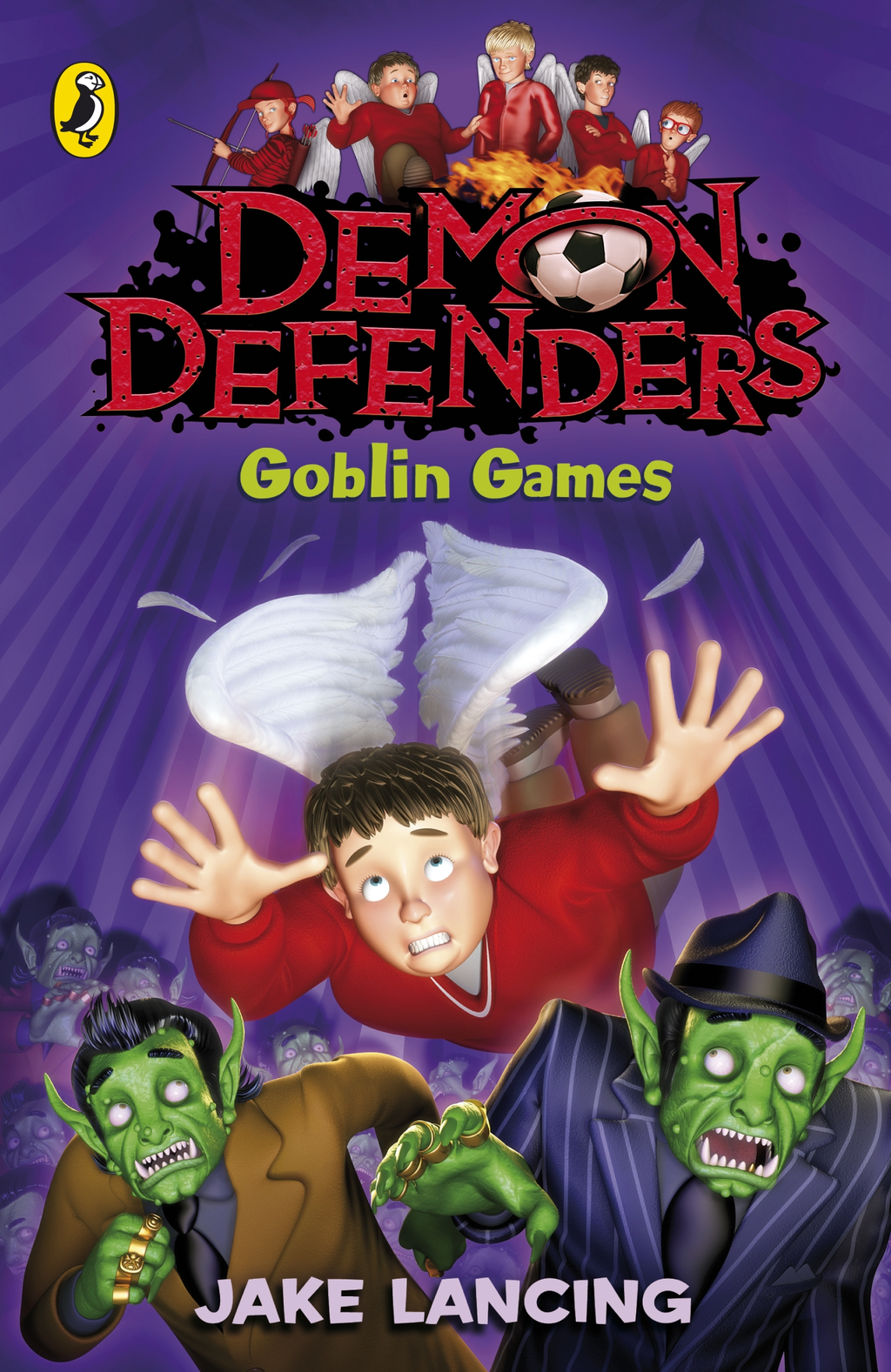 Demon Defenders: Goblin Games By: Jake Lancing