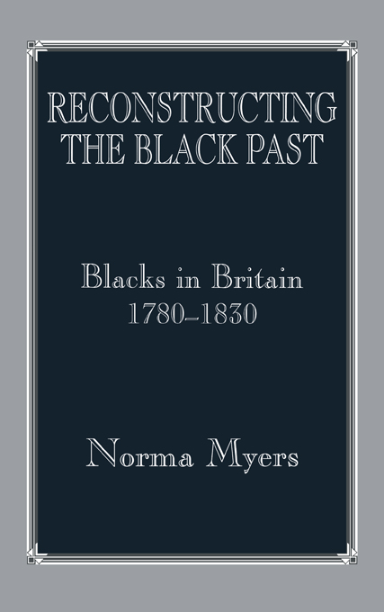 Reconstructing the Black Past