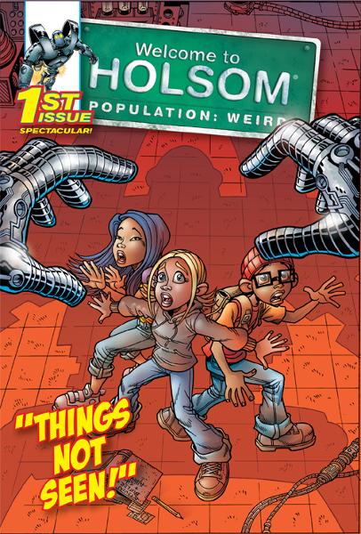 Things Not Seen By: Al Milgrom,Craig Schutt,Jeff Albrecht,Steven Butler