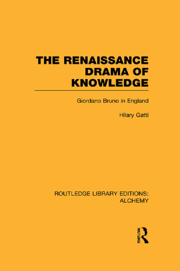 The Renaissance Drama of Knowledge