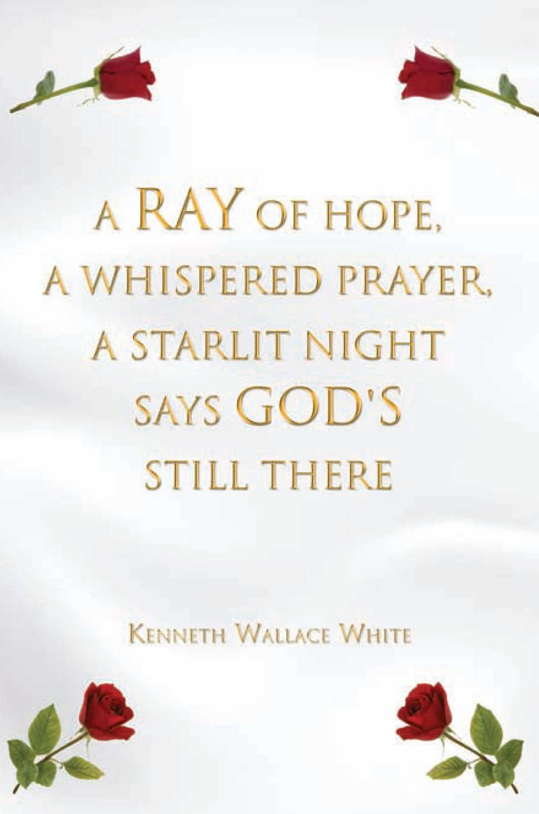 A Ray of Hope, A Whispered Prayer, A Starlit Night Says God's Still There