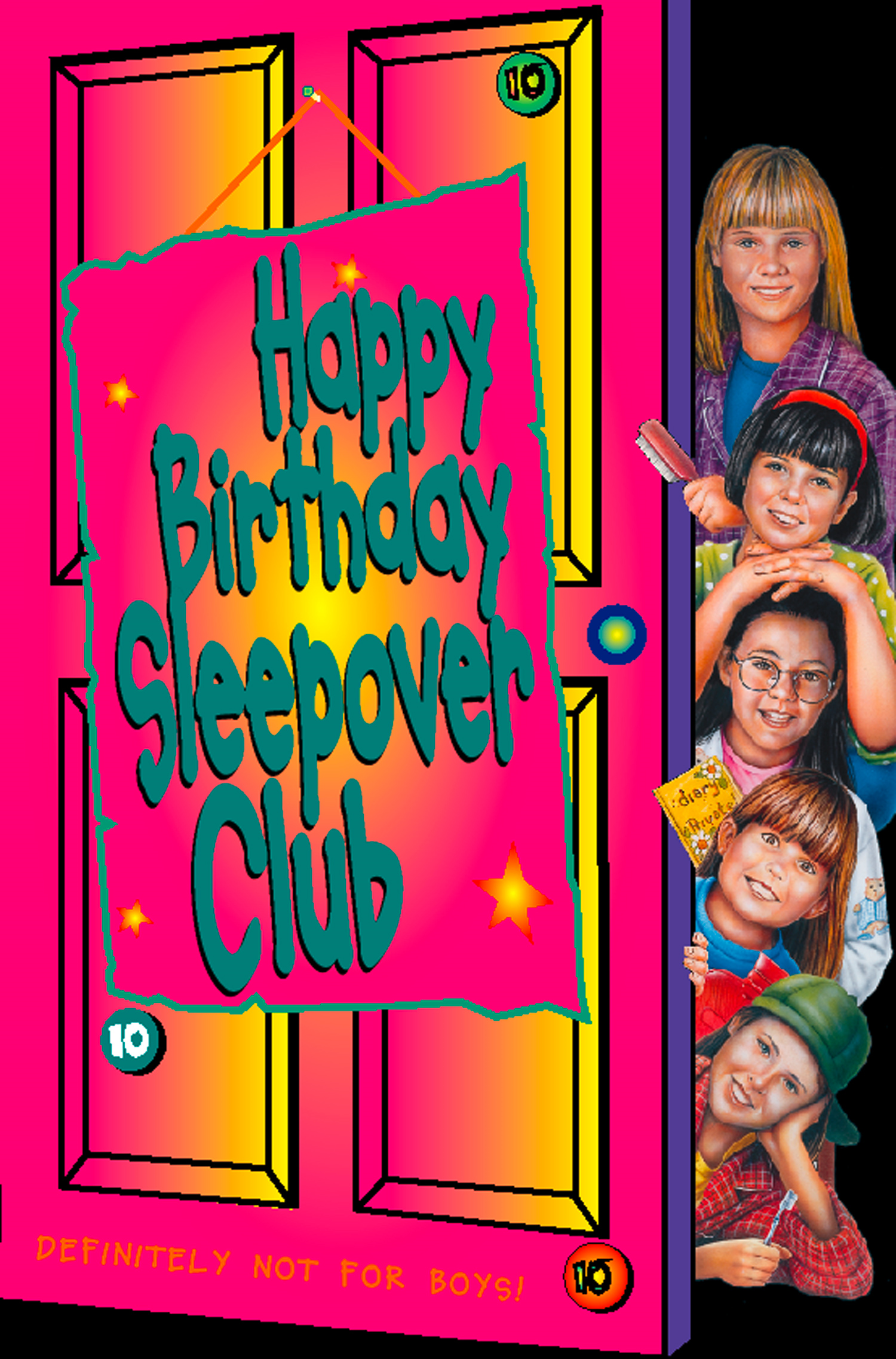 Happy Birthday, Sleepover Club (The Sleepover Club, Book 10)