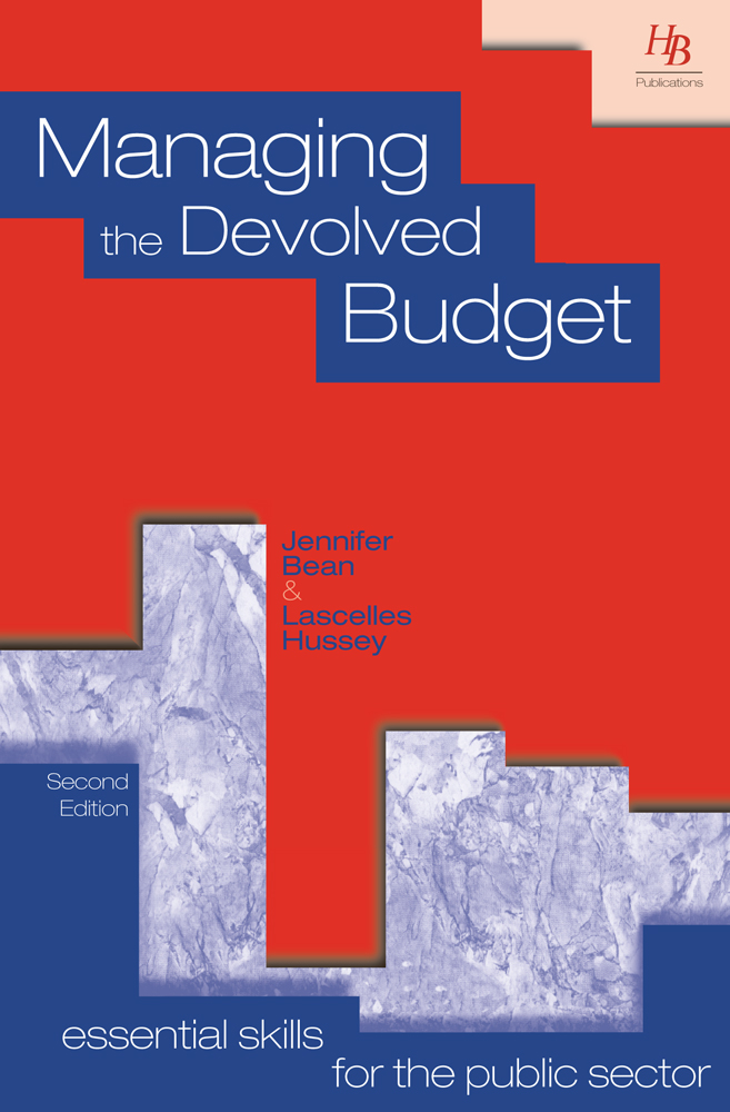 Managing the Devolved Budget