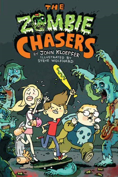 Cover Image: The Zombie Chasers