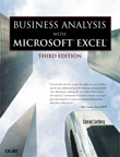 Business Analysis with Microsoft Excel, By: Conrad Carlberg