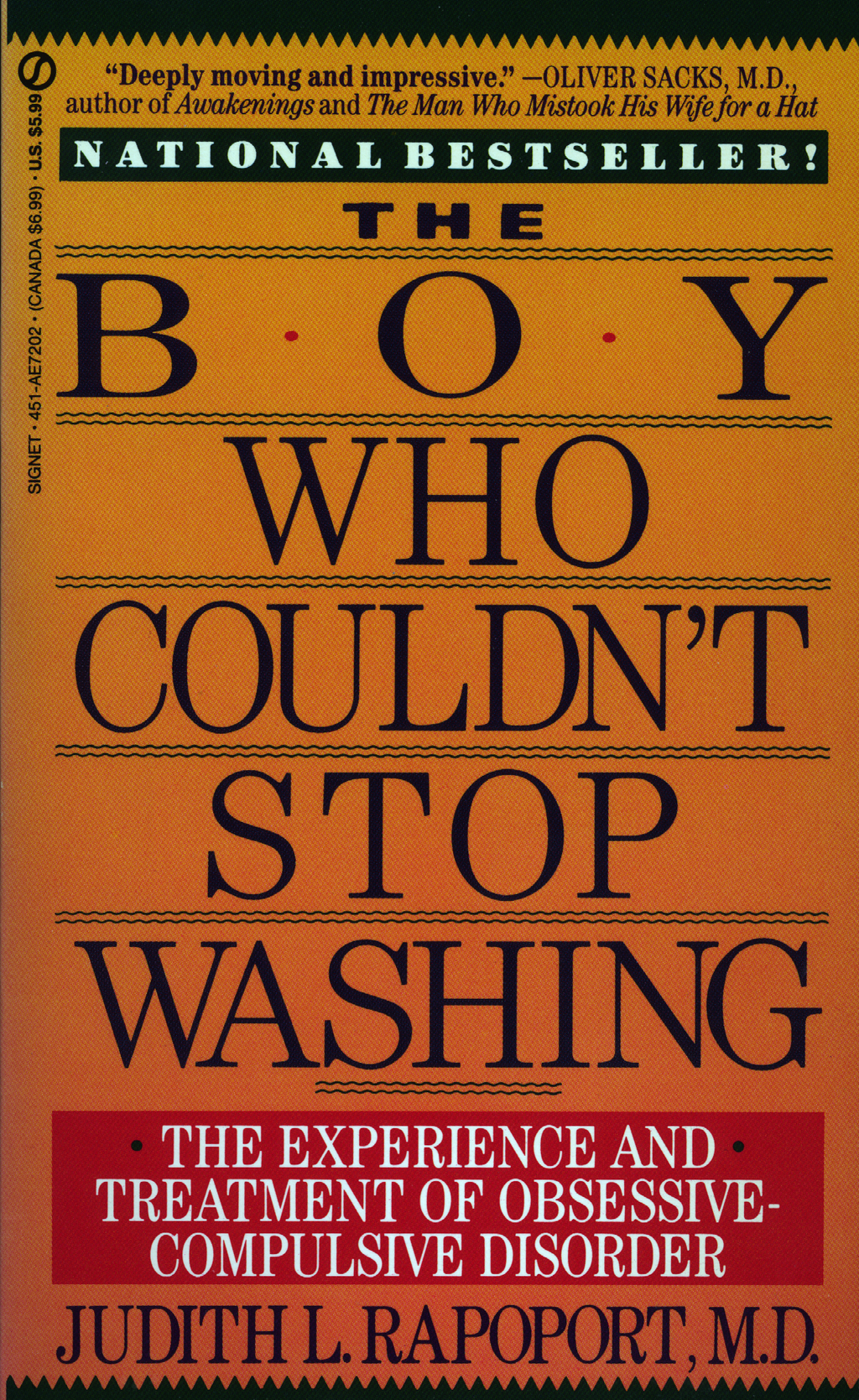 The Boy Who Couldn't Stop Washing By: Judith L. Rapoport