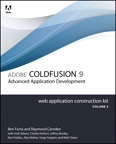 Adobe ColdFusion 9 Web Application Construction Kit, Volume 3