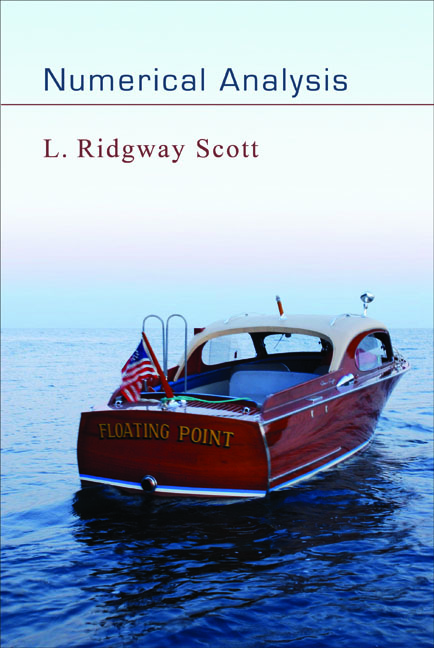Numerical Analysis By: L. Ridgway Scott