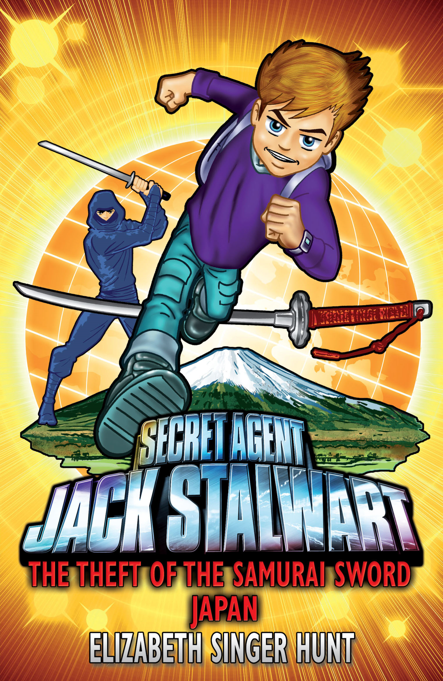 Jack Stalwart: The Theft of the Samurai Sword Japan: Book 11