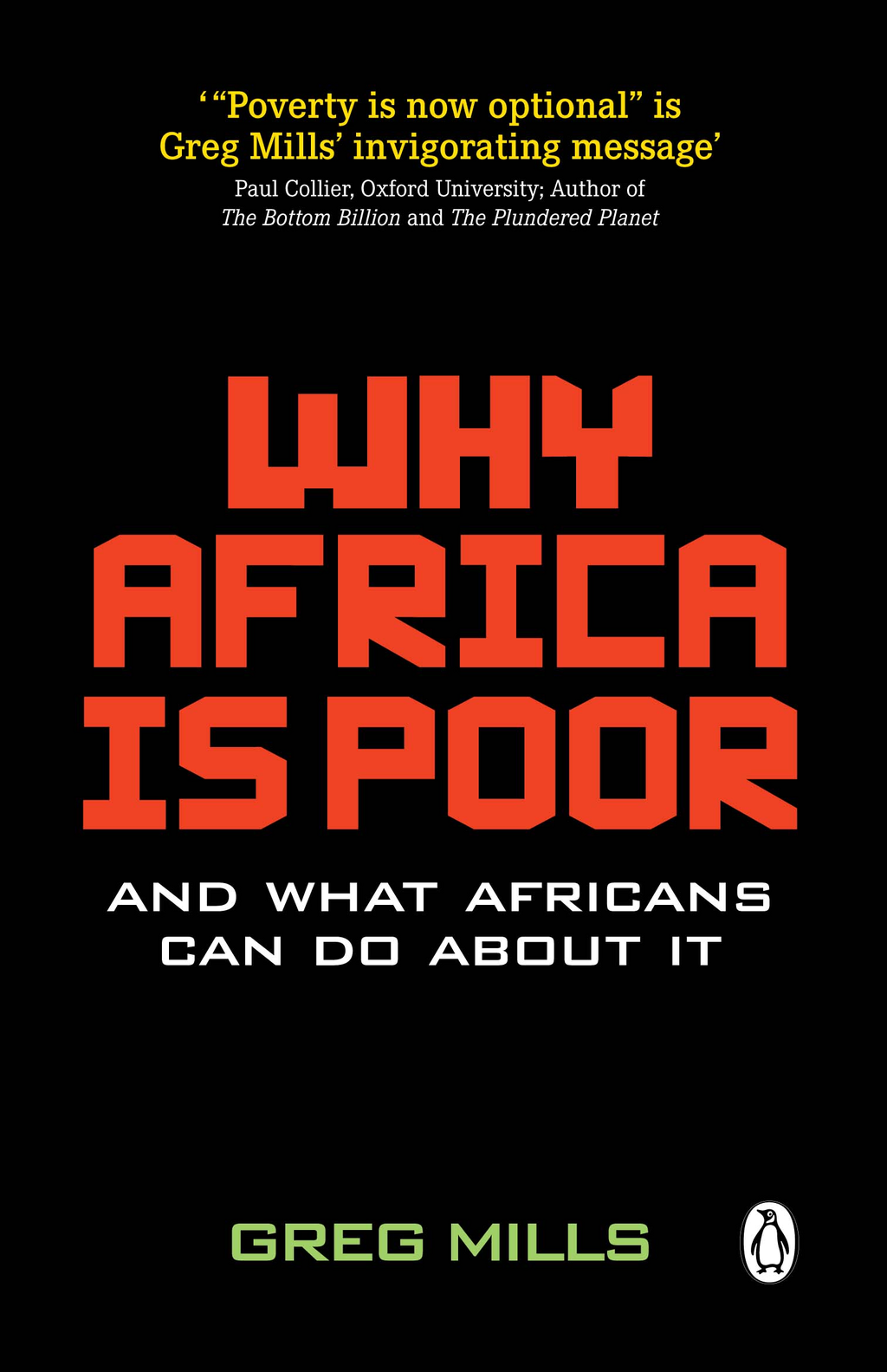 Why Africa is Poor By: Greg Mills