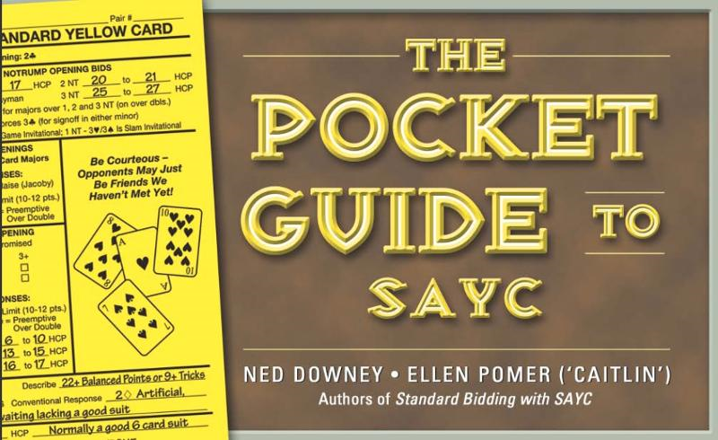 Pocket Guide to SAYC