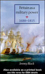 Britain As A Military Power, 1688-1815