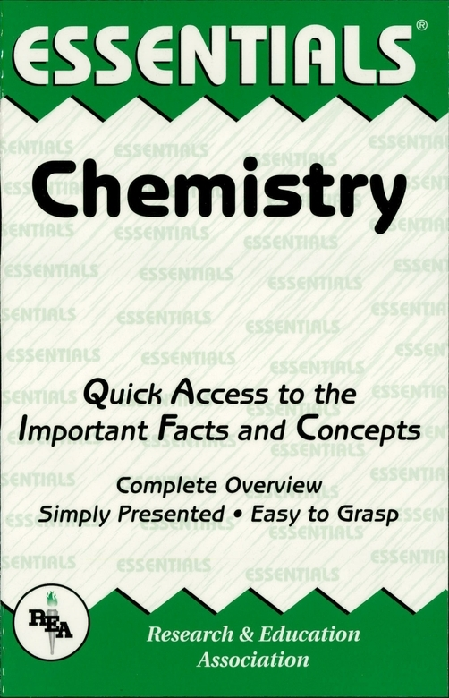Chemistry Essentials By: Adrian Dingle,Editors of REA