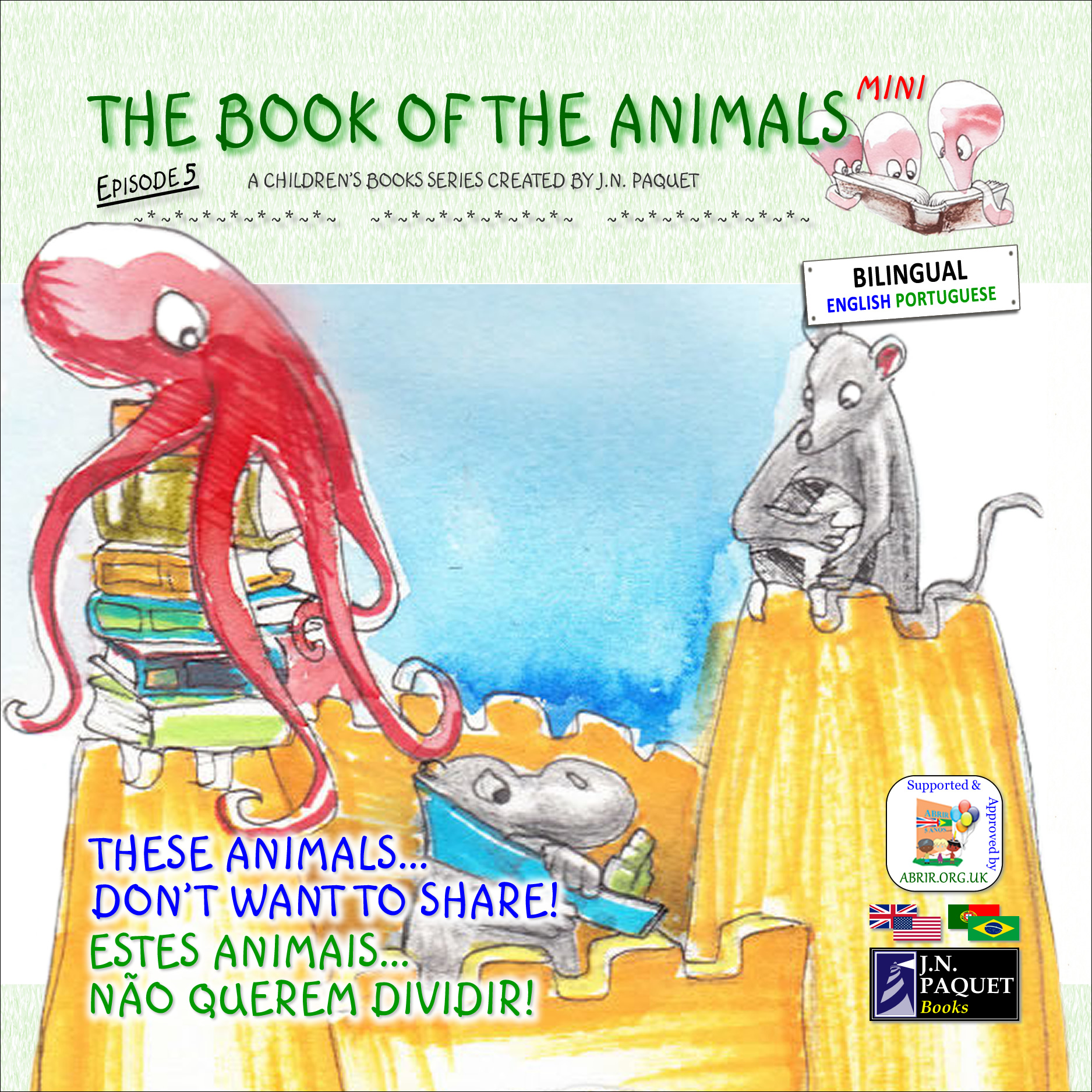 The Book of The Animals - Mini - Episode 5 (Bilingual English-Portuguese)