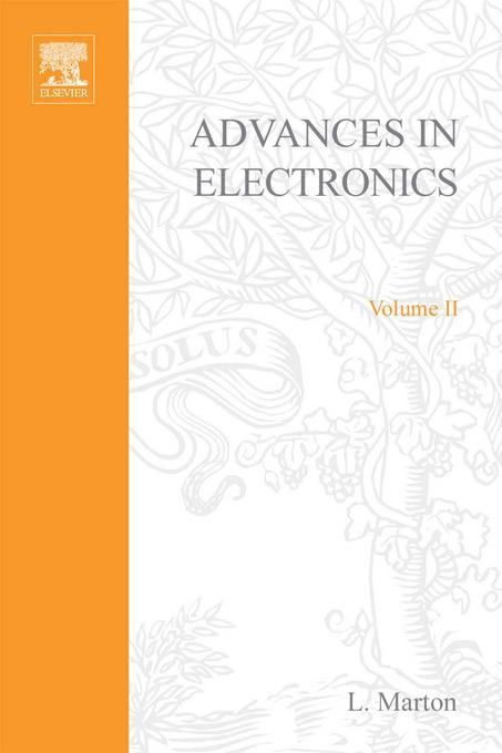 ADVANCES ELECTRONC &ELECTRON PHYSICS V2 By: AUTHOR, UNKNOWN