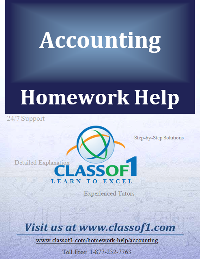 Homework help cost accounting