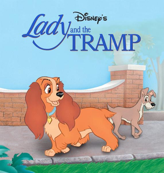 Lady and the Tramp:  Lady and the Tramp By: Disney Book Group
