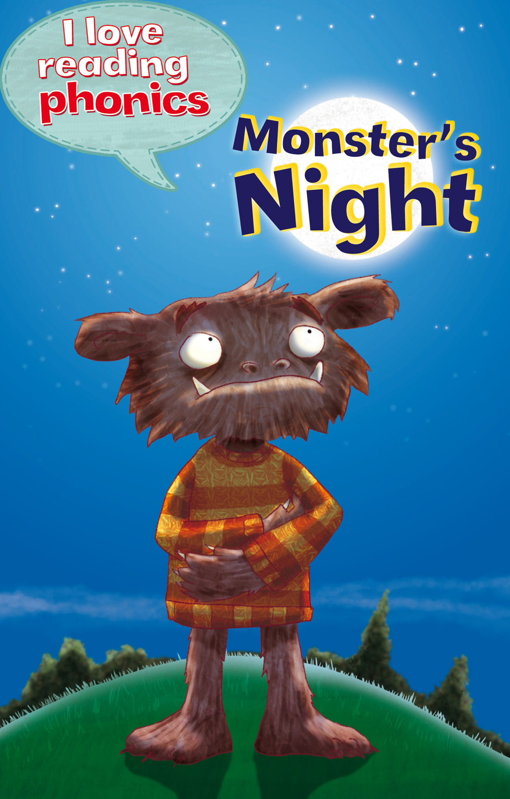 Monster's Night (I Love Reading Phonics Level 4)
