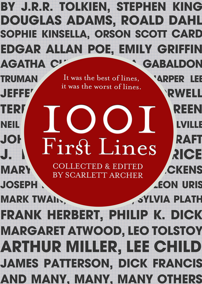1001 First Lines By: Scarlett Archer