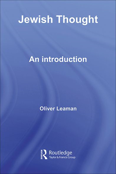 Jewish Thought An Introduction