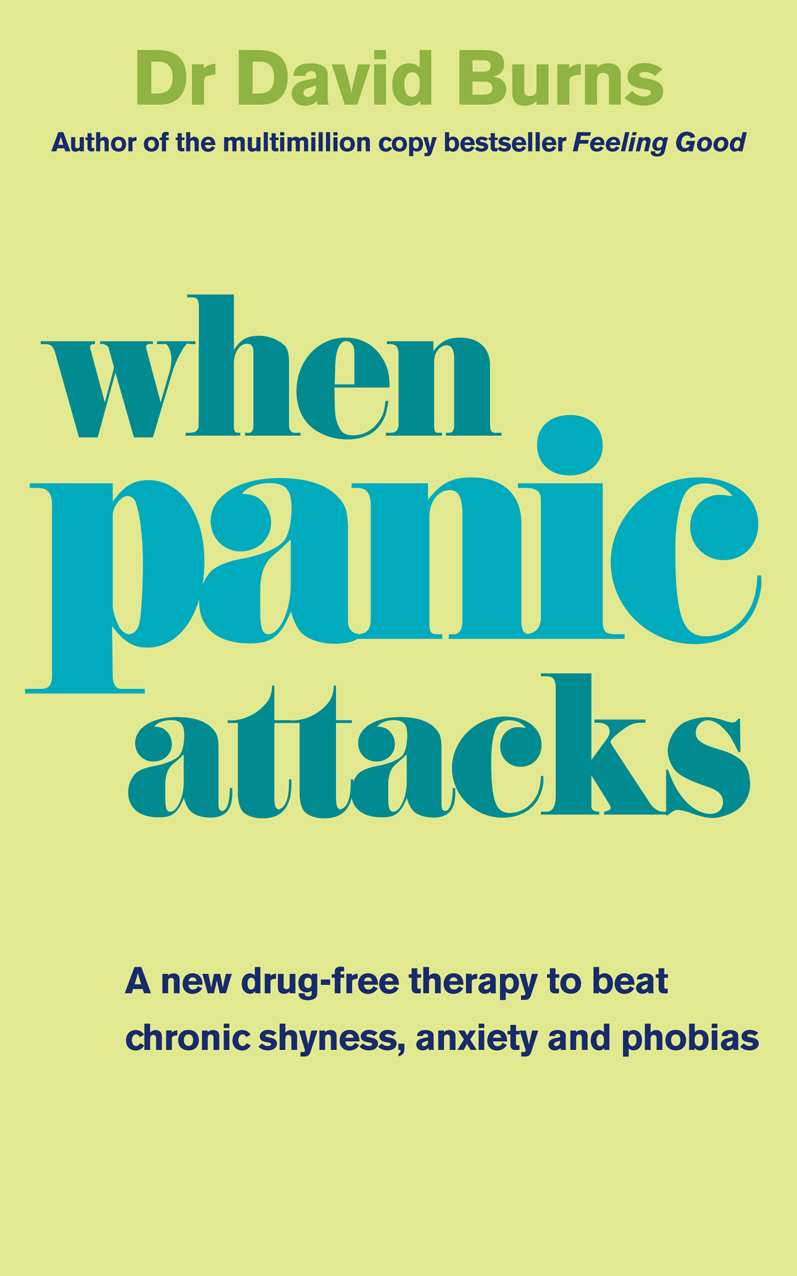 When Panic Attacks A new drug-free therapy to beat chronic shyness,  anxiety and phobias