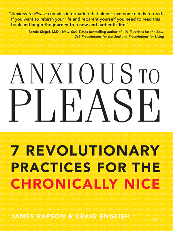 Anxious to Please By: Craig English,James Rapson