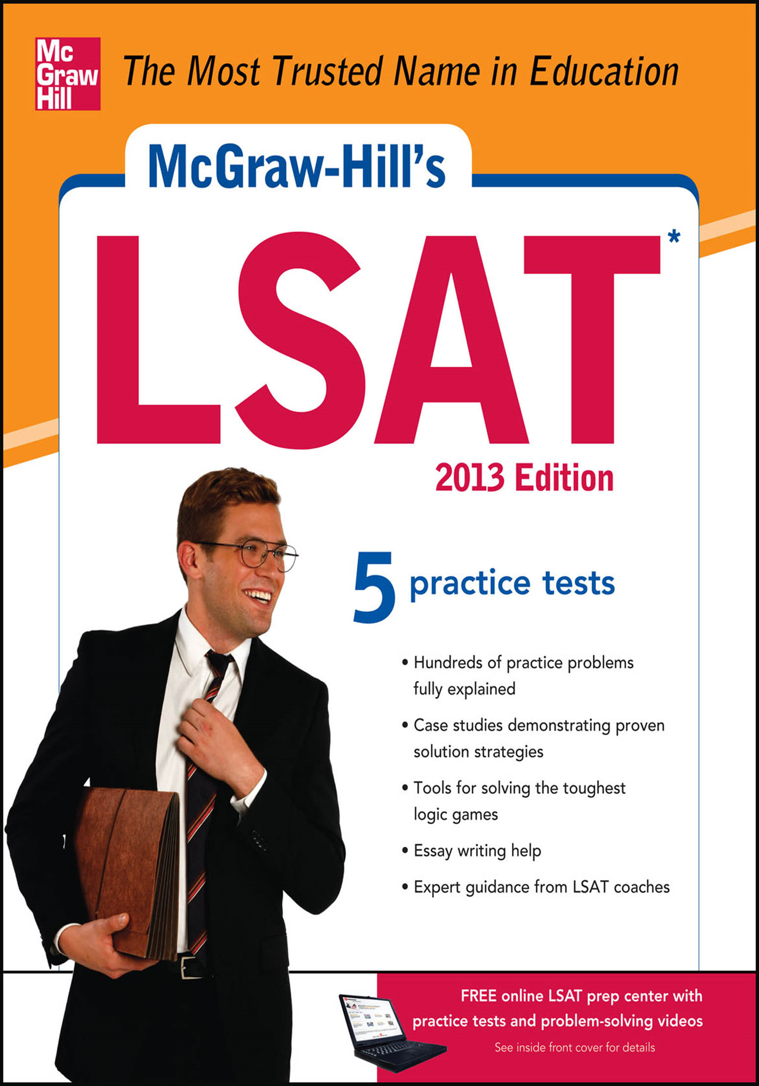 McGraw-Hill's LSAT, 2013 Edition
