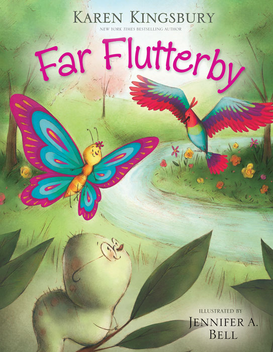 READ and HEAR edition: Far Flutterby (Apple) By: Karen   Kingsbury