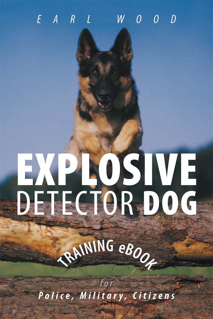 Explosive Detector Dog Training eBook