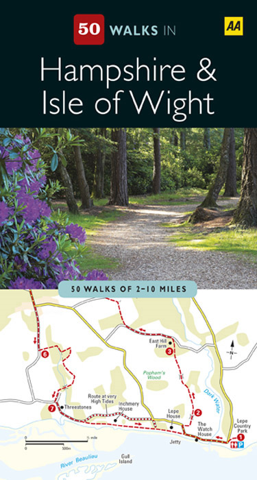 50 Walks in Hampshire and the Isle of Wight