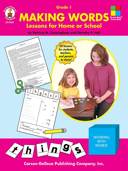 Patricia M.  Cunningham - Making Words, Grade 1: Lessons for Home or School