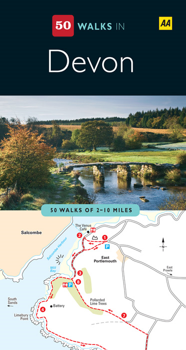 50 Walks In Devon By: Automobile Association