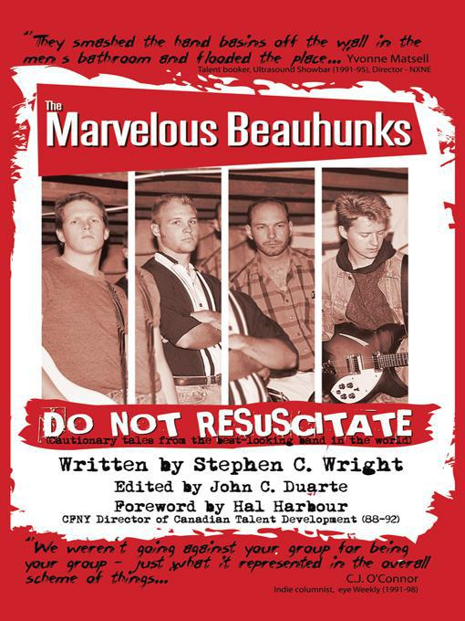 DO NOT RESUSCITATE: the Marvelous Beauhunks By: Stephen C. Wright