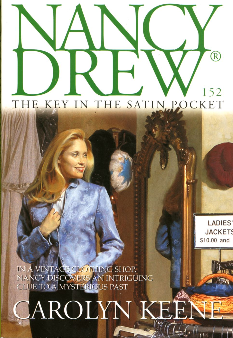 Book Cover: The Key in the Satin Pocket