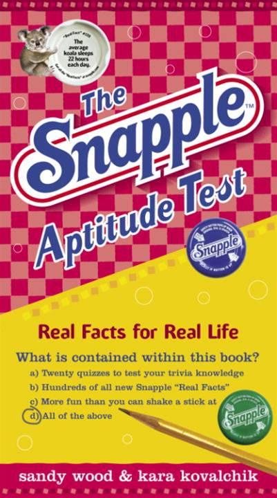 The Snapple Aptitude Test By: Kara Kovalchik,Sandy Wood