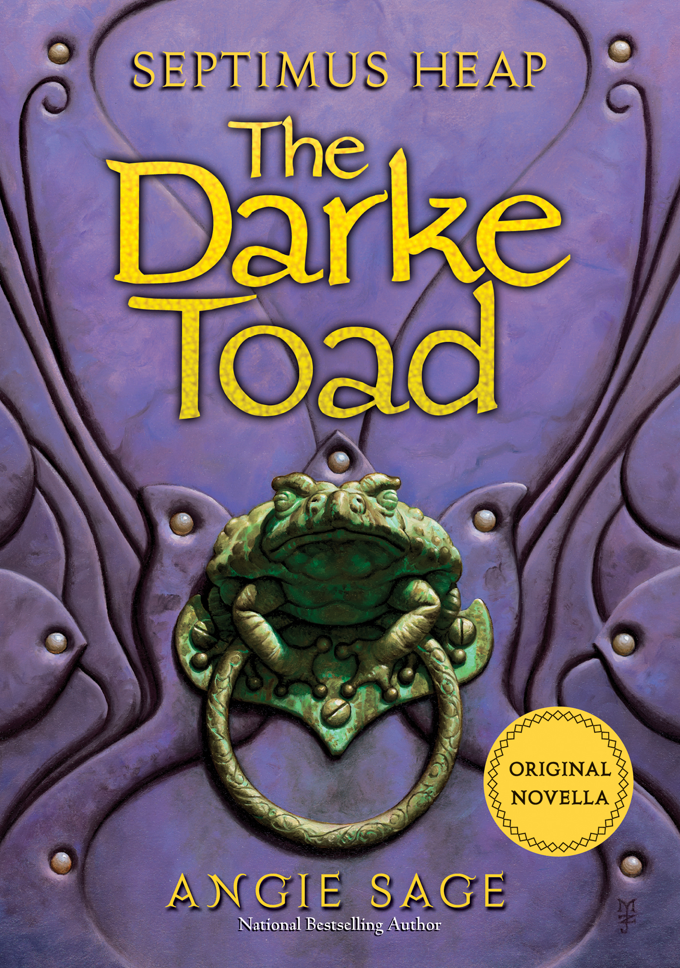 Book Cover: Septimus Heap: The Darke Toad