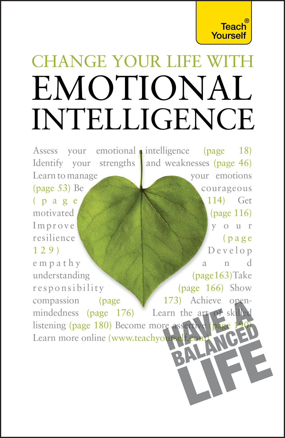 Change Your Life With Emotional Intelligence By: Christine Wilding