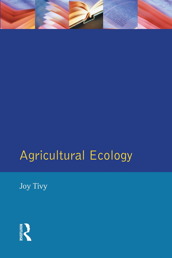 Agricultural Ecology