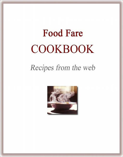 Food Fare Cookbook