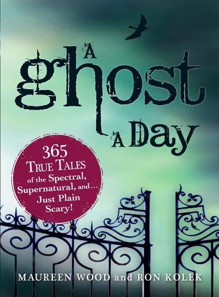 A Ghost a Day: 365 True Tales of the Spectral,  Supernatural,  and?Just Plain Scary!