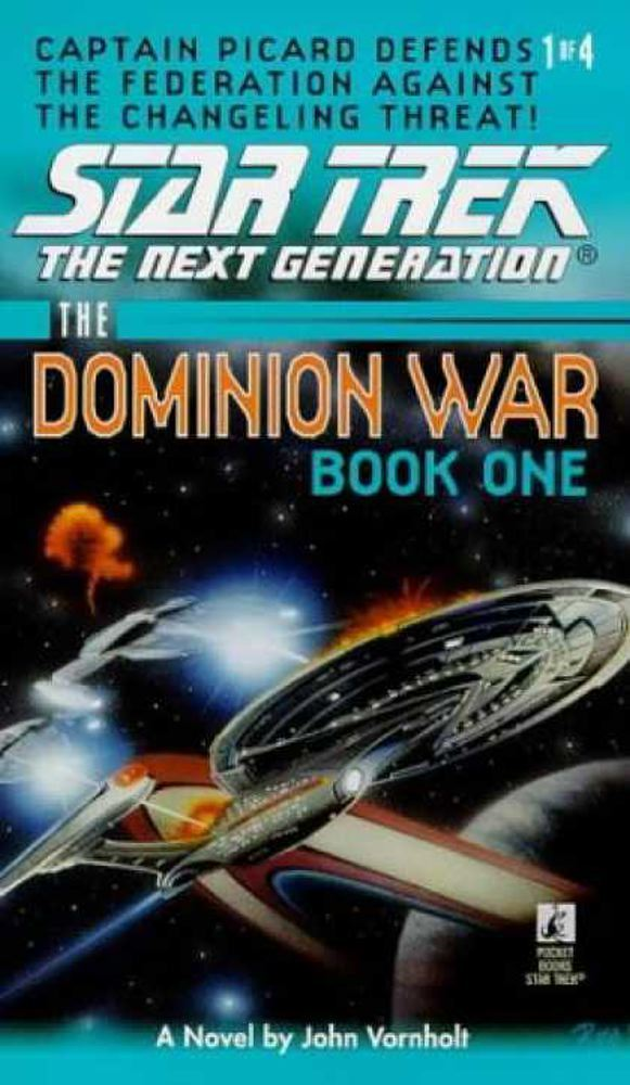 Book Cover: Star Trek: The Dominion Wars: Book 1