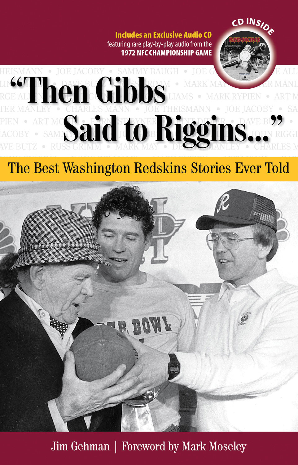 """Then Gibbs Said to Riggins. . ."""