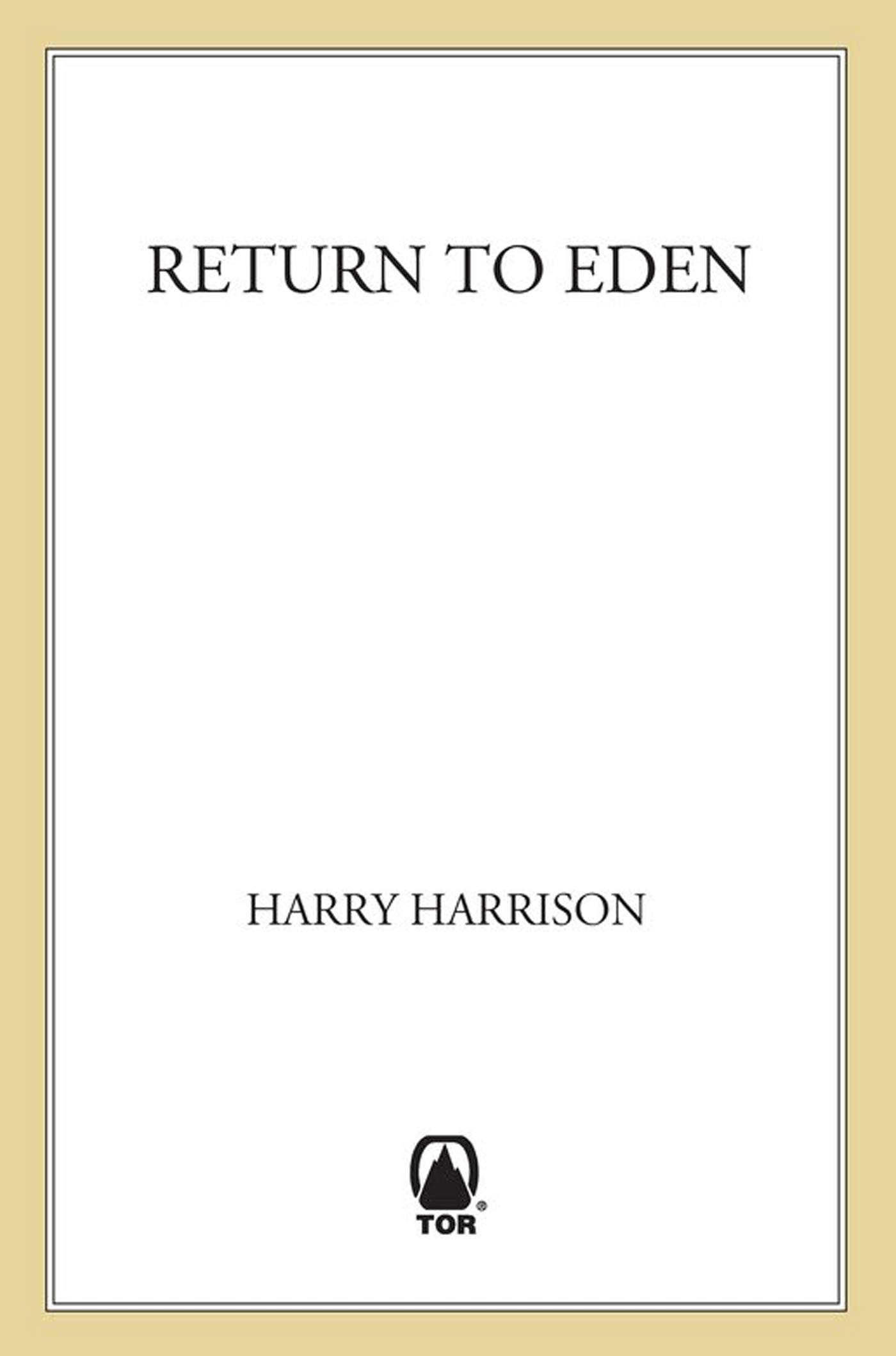Return to Eden By: Harry Harrison