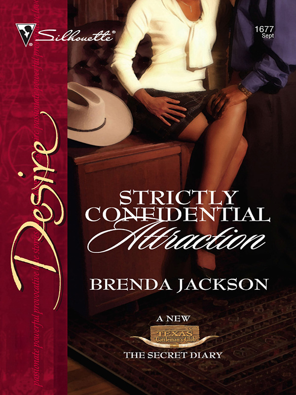 Strictly Confidential Attraction By: Brenda Jackson