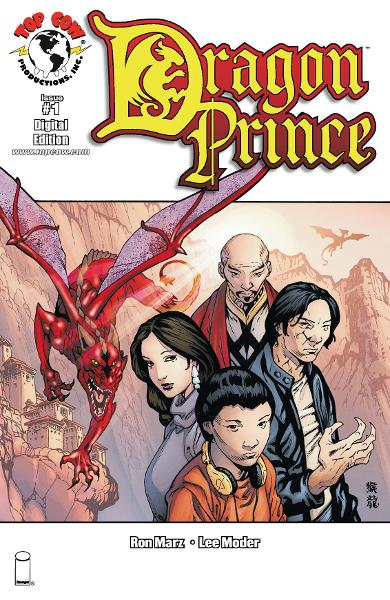 Dragon Prince #1 By: Ron Marz, Lee Moder, Jeff Johnson