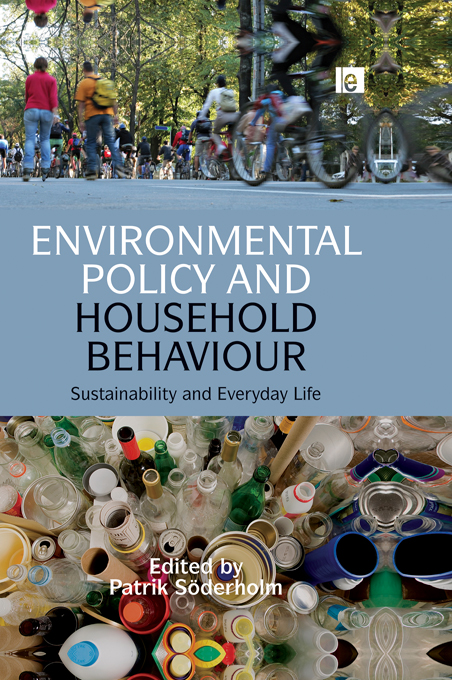 Environmental Policy and Household Behaviour Sustainability and Everyday Life