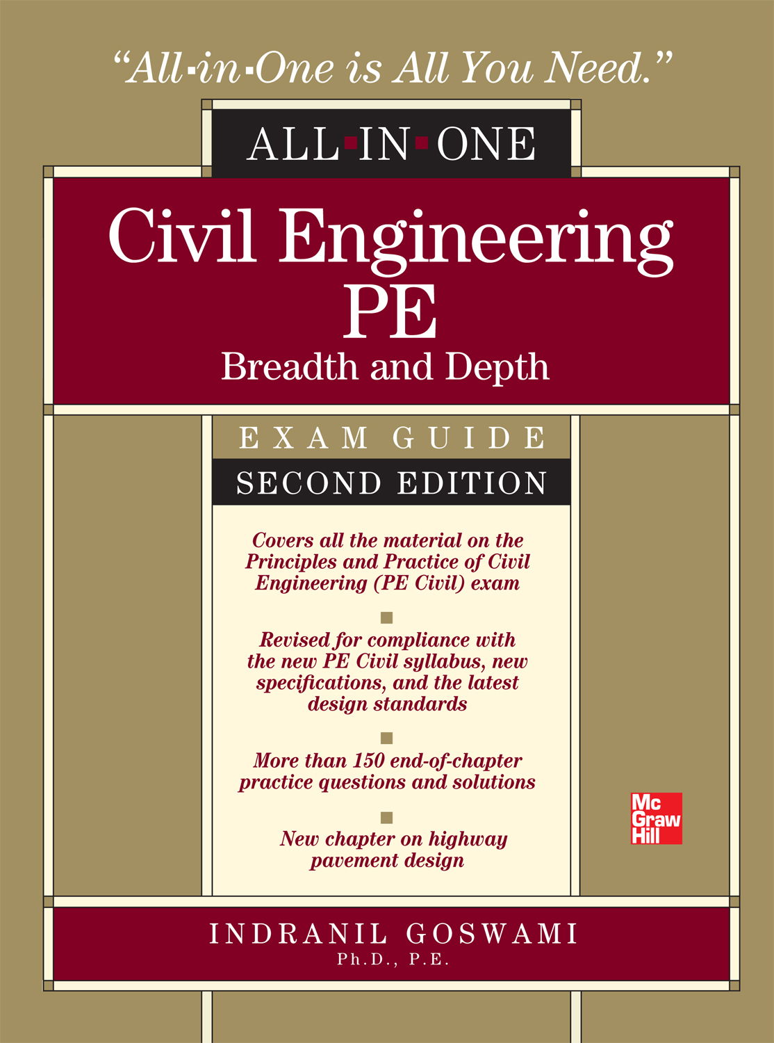 Civil Engineering All-In-One PE Exam Guide: Breadth and Depth 2/E